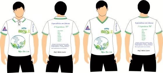 Camiseta ExpoBio 2 - 2014
